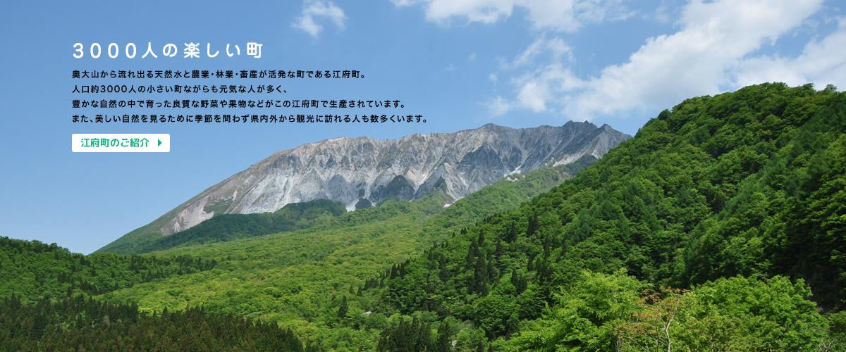 行政トップページ | 江府町行政サイト